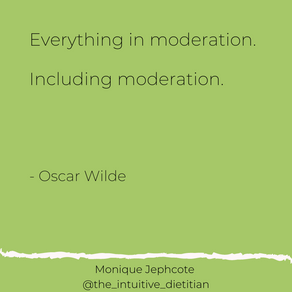 Moderation - including moderation!