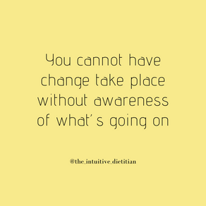 Change & Awareness