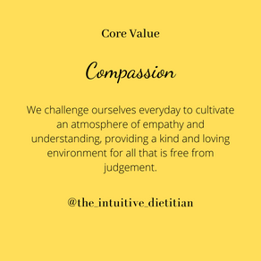 Core Value - Compassion