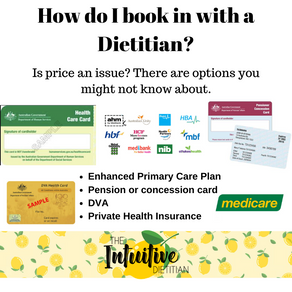 How do I book in to see a Dietitian?