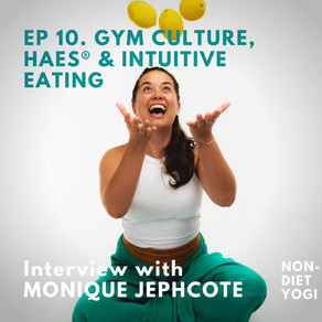 Guest speaker on the Non-Diet Yogi podcast