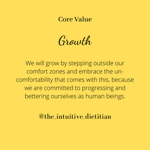 Core Value - Growth