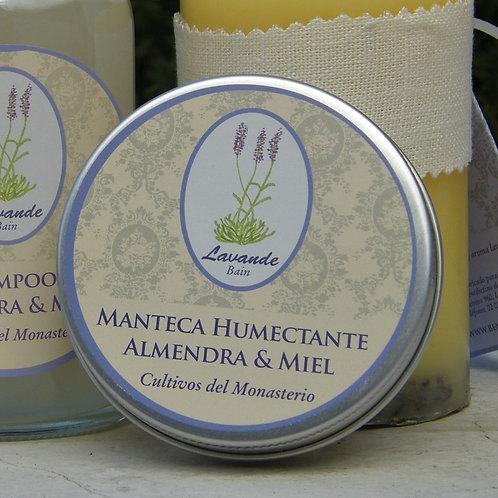 MANTECA HUMECTANTE ALMENDRA&MIEL
