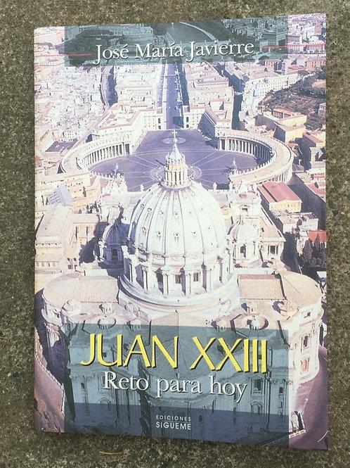 JUAN XXIII, RETO PARA HOY