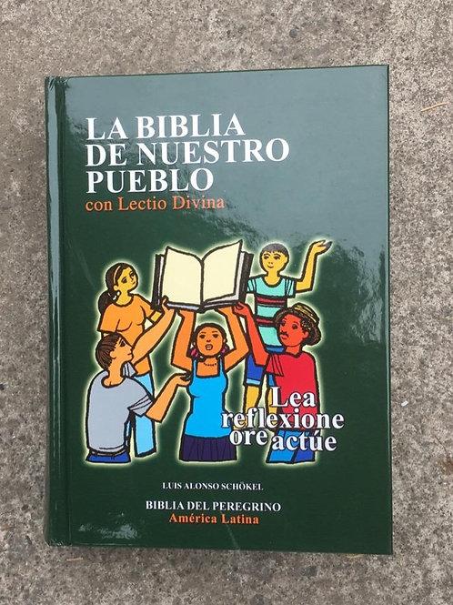 LA BIBLIA DE NUESTRO PUEBLO CON LECTIO