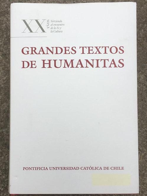 GRANDES TEXTOS DE HUMANITAS