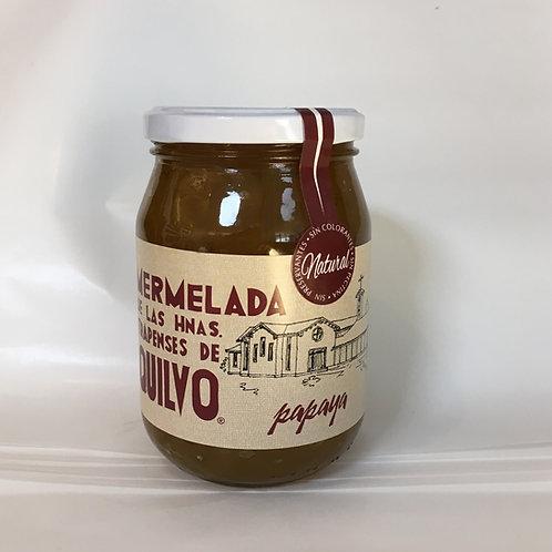 MERMELADA DE PAPAYA, QUILVO