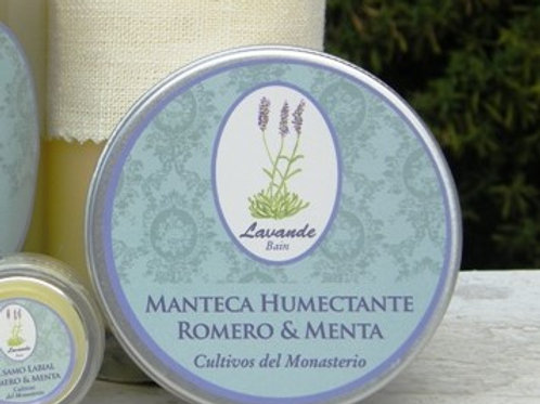 MANTECA HUMECTANTE ROMERO&MENTA