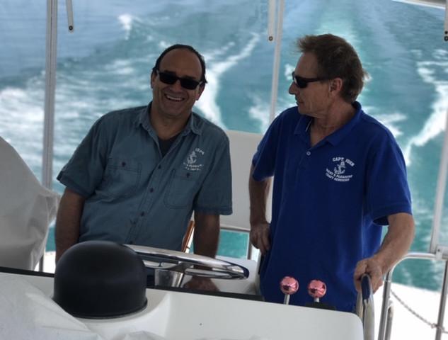 Capt John and Lester