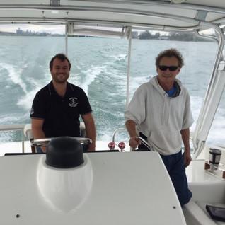 Capt John jr and Lester