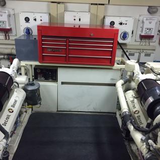 Engine Room 8v92