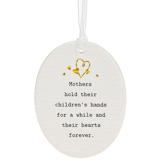 Thoughtful Words Hanging Plaque - Mother