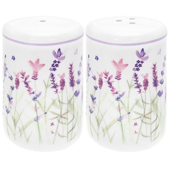 Purple Lavender Salt and Pepper Set