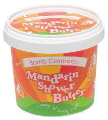 Mandarin Shower Butter by Bomb Cosmetics