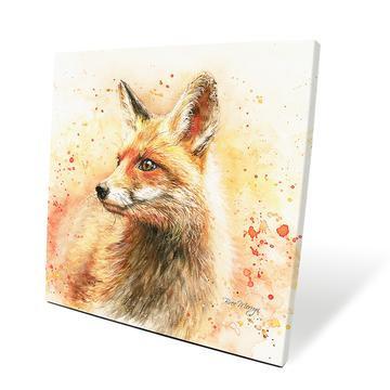 Frankie Fox 40cm Box Canvas