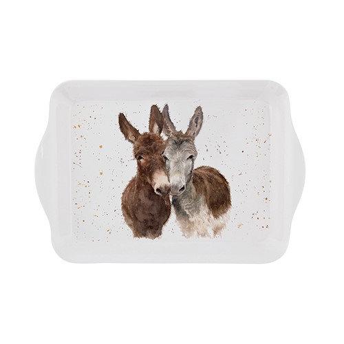 Jack & Diane Donkeys Small Tray