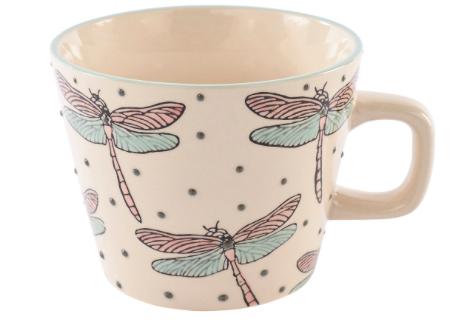 China Dragonfly Mug