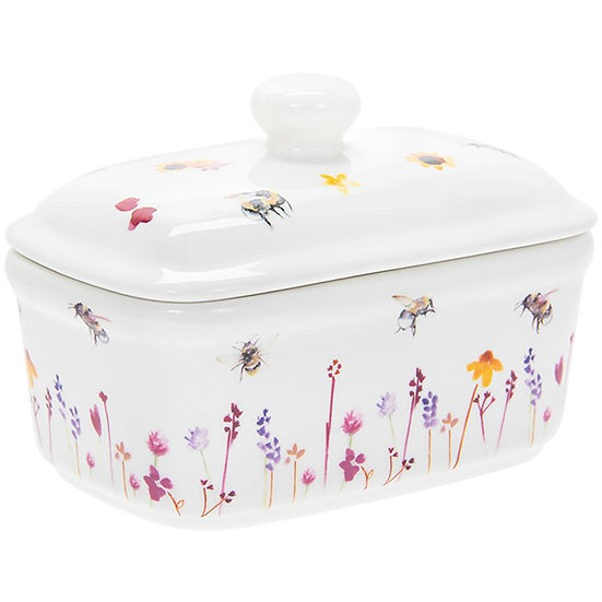 Butter Dish - Busy Bee