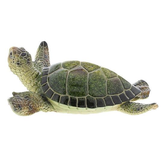 Green Turtle Figurine