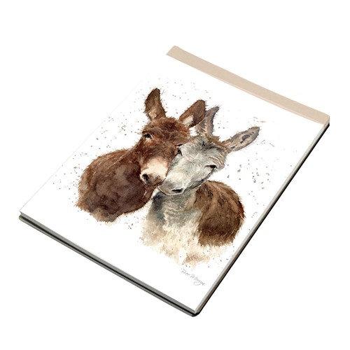 Jack & Diane Donkeys A7 Notebook