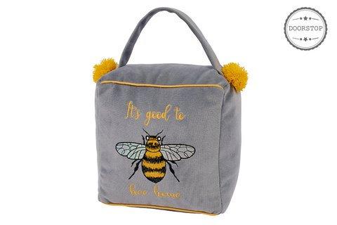 'Its Good to Bee Home' Door Stop