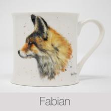 Fabian Fox China Mug