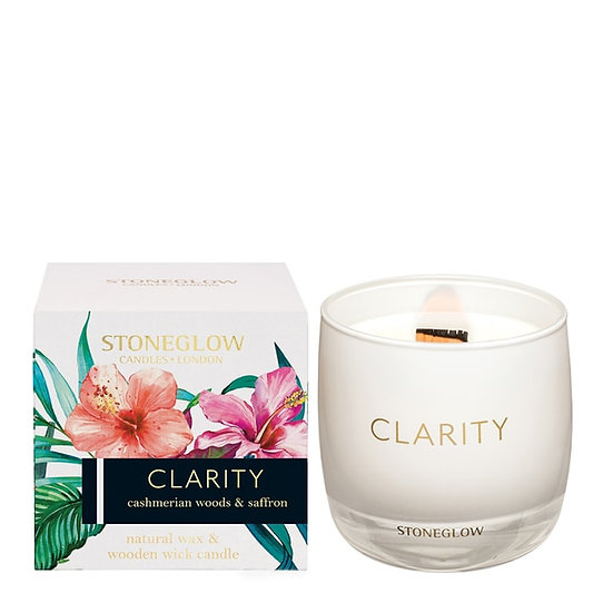 Stoneglow Infusion Clarity Tumbler Candle