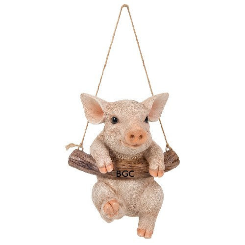 Rocking Piglet Ornament