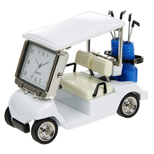 Golf Cart Miniature Desk Clock