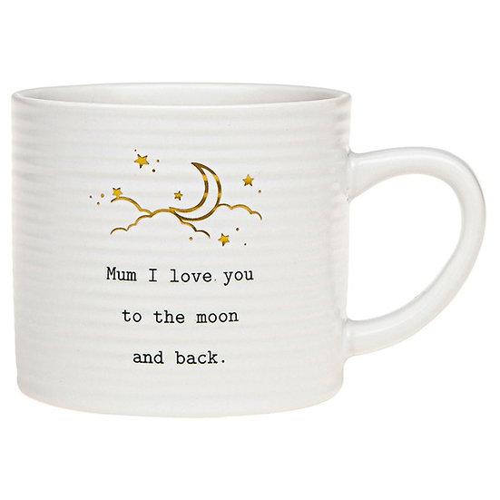 Thoughtful Words Ceramic Mug - Mum