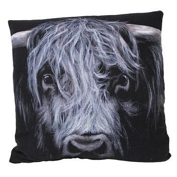 Hamish Highland Cow Luxury Feather Cushion - Bree Merryn