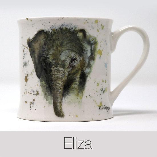 Eliza Elephant China Mug