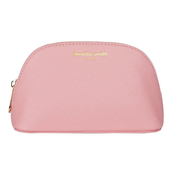 Fenella Smith Blush Pink Oyster Cosmetic Case