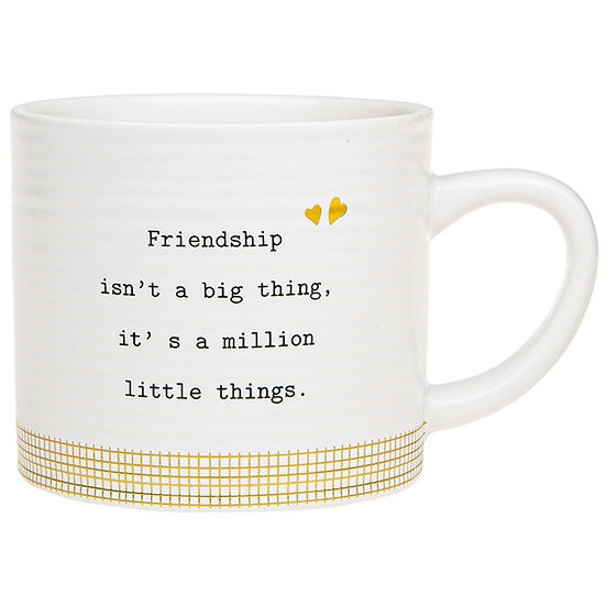 Thoughtful Words Ceramic Mug - Friendship