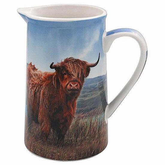 Highland Cow Jug