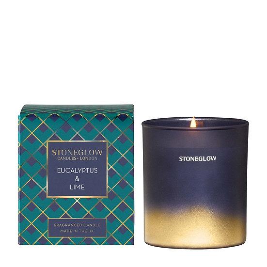 Stoneglow Eucalyptus and Lime Tumbler Candle