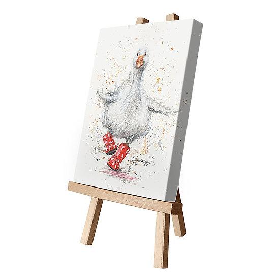Daphne Duck Canvas Cutie