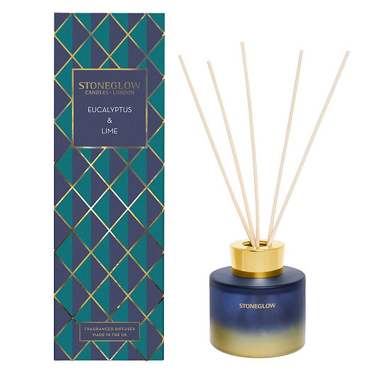 Stoneglow Eucalyptus and Lime Reed Diffuser