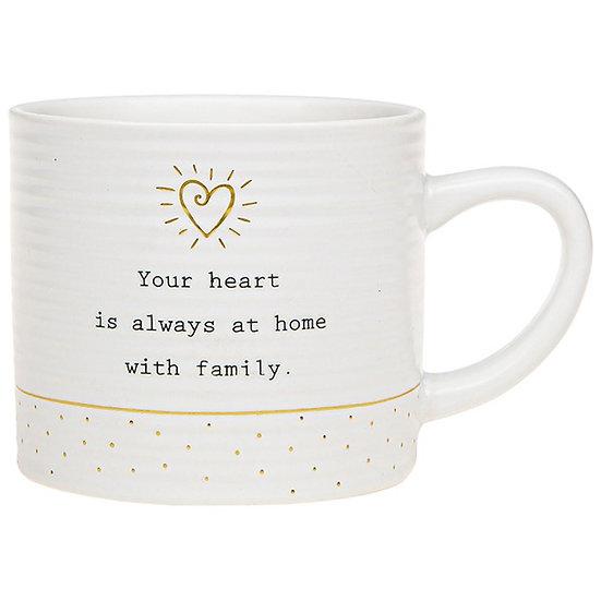 Thoughtful Words Ceramic Mug- Family