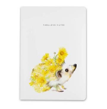 Lola Design A5 Hedgehog Notebook
