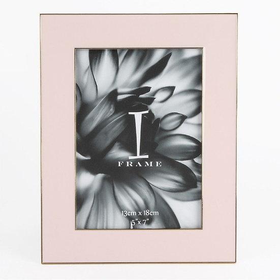 """5"""" x 6"""" iFrame Pastel Pink Photo Frame"""