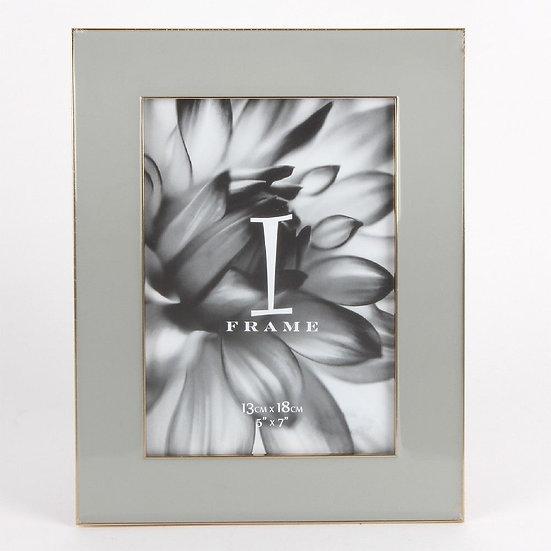 "5"" x 7"" iFrame Soft Grey Photo Frame"