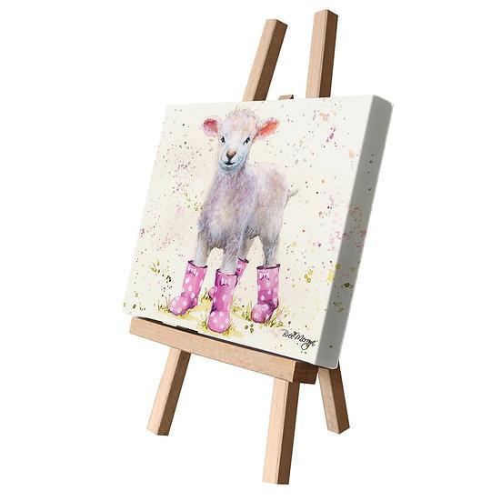 Lottie Lamb Canvas Cutie