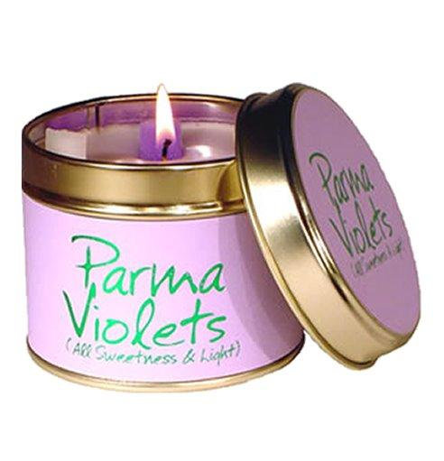 Lily Flame Parma Violet Tin Candle