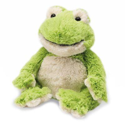 "Warmies 12"" microwaveable warming soft Frog"