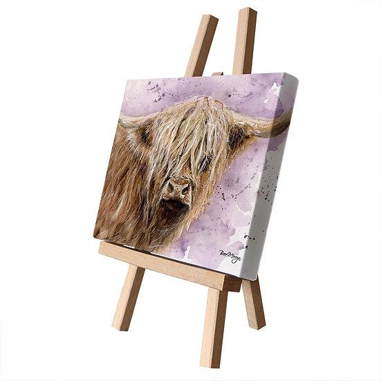 Archibald Cow Canvas Cutie