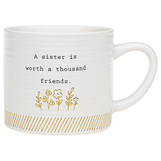 Thoughtful Words Ceramic Mug - Sister