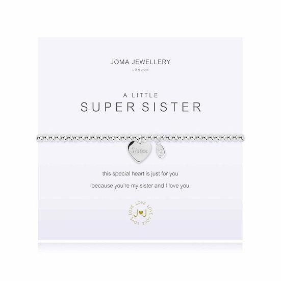 Joma Jewellery Bracelet- A Little Super Sister