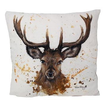 Sheridan Stag Luxury Feather Cushion