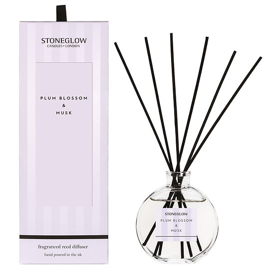 Stoneglow Plum Blossom and Musk Reed Diffuser